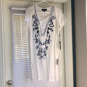 Lulu's Dresses - Embroidered Shift Dress